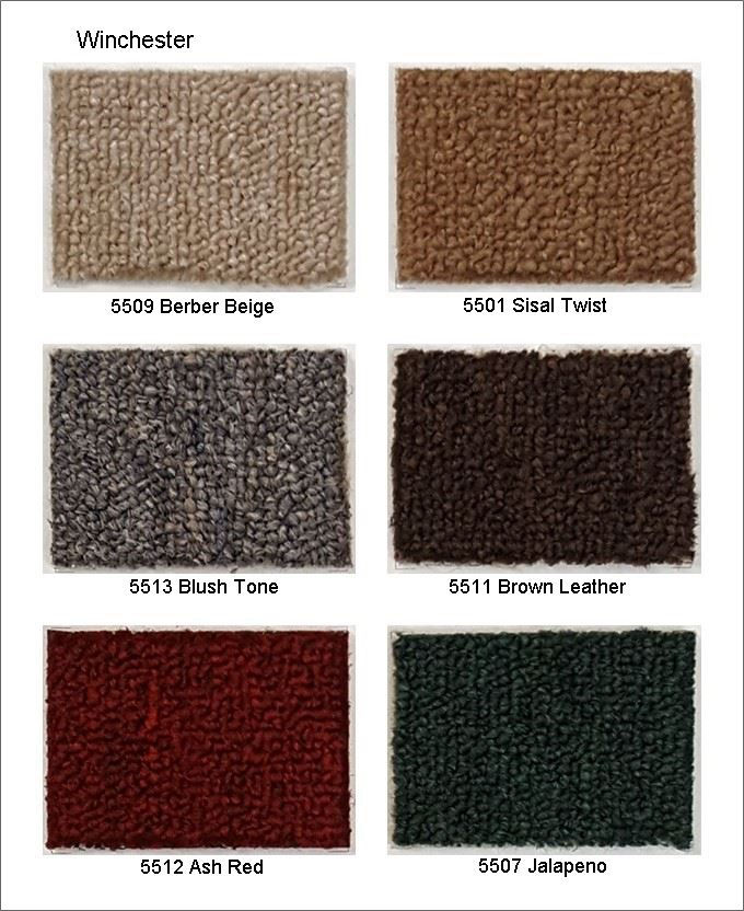 Winchester Roll Carpet, PP, Loop Pile Roll Carpet, Strong